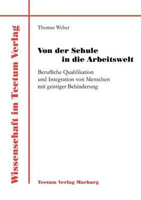 Von Der Schule in Die Arbeitswelt - Wissenschaft Im Tectum Verlag (Paperback)