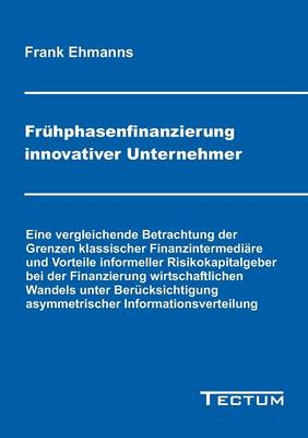 Fr Hphasenfinanzierung Innovativer Unternehmer (Paperback)