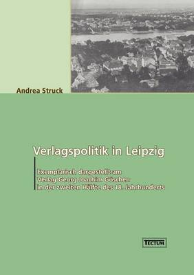 Verlagspolitik in Leipzig (Paperback)