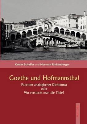 Goethe Und Hofmannsthal (Paperback)