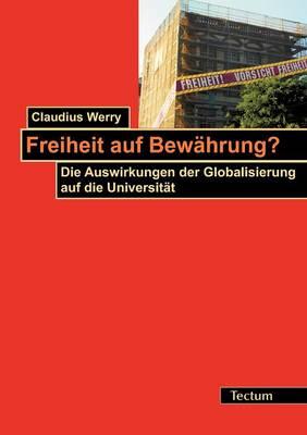 Freiheit Auf Bew Hrung? (Paperback)