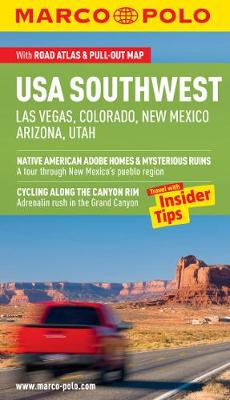 USA Southwest (Las Vegas, Colorado, New Mexico, Arizona, Utah) Guide - Marco Polo Guides (Paperback)