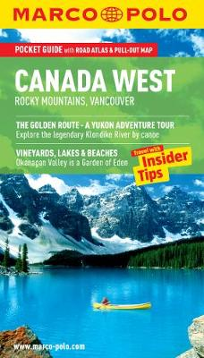 Canada West (Rocky Mountains & Vancouver) Marco Polo Pocket Guide - Marco Polo Travel Guides (Paperback)