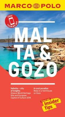 Malta and Gozo Marco Polo Pocket Travel Guide - with pull out map (Paperback)