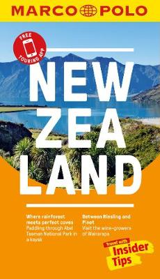 New Zealand Marco Polo Pocket Travel Guide - with pull out map (Paperback)