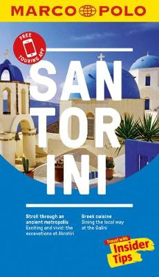 Santorini Marco Polo Pocket Travel Guide - with pull out map (Paperback)
