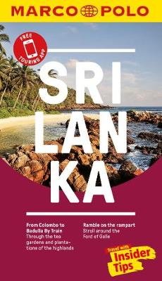 Sri Lanka Marco Polo Pocket Travel Guide - with pull out map (Paperback)