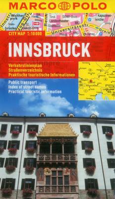 Innsbruck Marco Polo City Map - Marco Polo Maps (Multilingual) (Sheet map, folded)