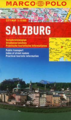 Salzburg Marco Polo City Map - Marco Polo Maps (Multilingual) (Sheet map, folded)