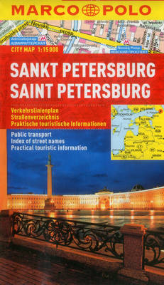 St Petersburg Marco Polo City Map - Marco Polo Maps (Multilingual) (Sheet map, folded)