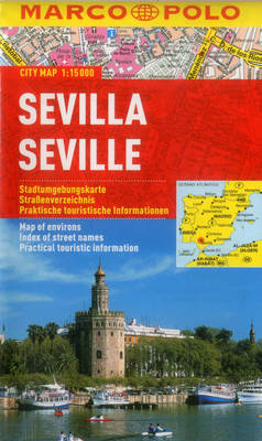 Seville Marco Polo City Map - Marco Polo Maps (Multilingual) (Sheet map, folded)
