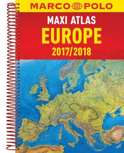Europe Maxi Atlas (Spiral bound)