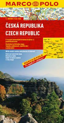 Czech Republic Marco Polo Map - Marco Polo Atlases (Multilingual) (Sheet map, folded)