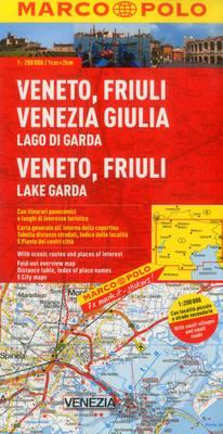 Italy - Veneto, Friuli, Lake Garda Marco Polo Map - Marco Polo Maps (Multilingual) (Sheet map, folded)