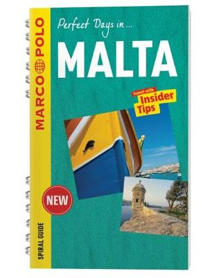 Malta Marco Polo Travel Guide - with pull out map - Marco Polo Spiral Travel Guides