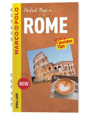 Rome Marco Polo Travel Guide - with pull out map (Spiral bound)