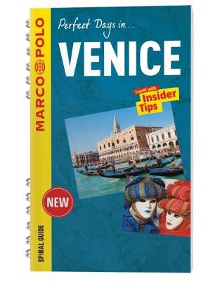 Venice Marco Polo Travel Guide - with pull out map - Marco Polo Spiral Travel Guides