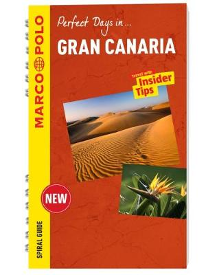 Gran Canaria Marco Polo Travel Guide - with pull out map - Marco Polo Spiral Travel Guides