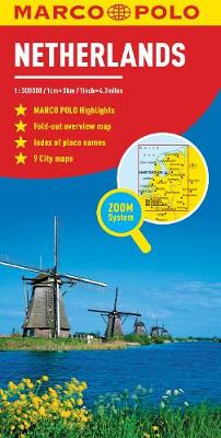 Netherlands Marco Polo Map - Marco Polo Maps (Sheet map, folded)