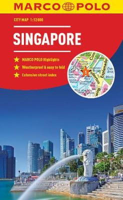 Singapore Marco Polo City Map 2018 - pocket size, easy fold, Singapore street map - Marco Polo City Maps (Paperback)