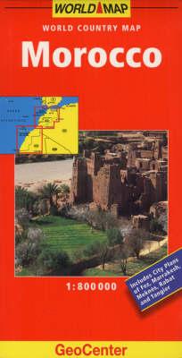Morocco GeoCenter World Map - GeoCenter World Map (Sheet map, folded)