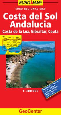 Spain Costa del Sol GeoCenter Euro Map - GeoCenter Maps (Sheet map, folded)