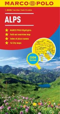 Alps Marco Polo Map (Sheet map, folded)