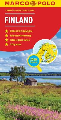 Finland Map - Marco Polo Maps (Sheet map, folded)