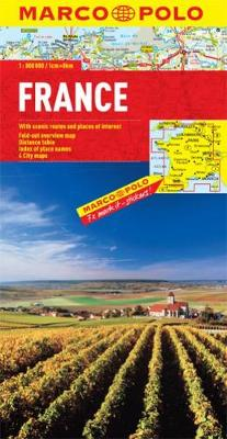 France Marco Polo Map (Sheet map, folded)