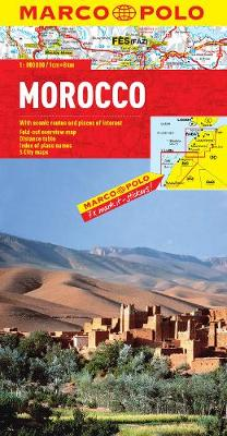Morocco Map - Marco Polo Maps (Sheet map, folded)
