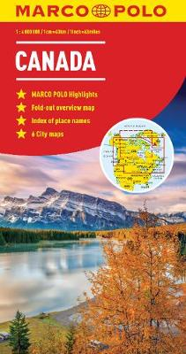 Canada Marco Polo Map (Sheet map, folded)