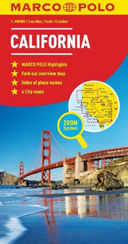 California Marco Polo Map (Sheet map, folded)