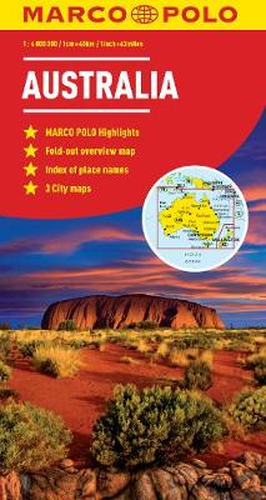 Australia Marco Polo Map (Sheet map, folded)