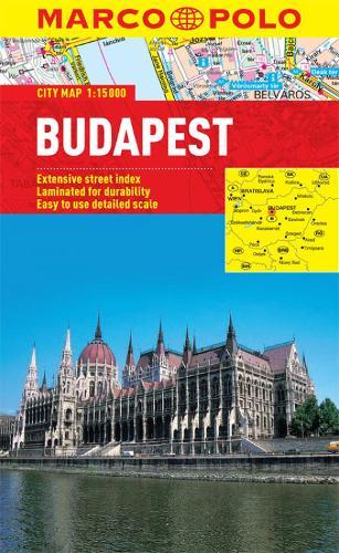 Budapest City Map - Marco Polo City Maps (Sheet map, folded)
