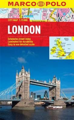 London City Map - Marco Polo City Maps (Sheet map, folded)