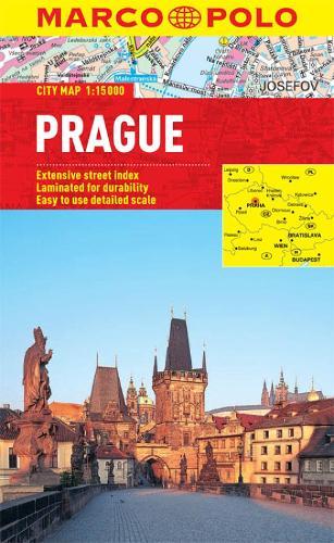 Prague City Map - Marco Polo City Maps (Sheet map, folded)