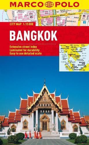 Bangkok Marco Polo City Map - Marco Polo City Maps (Sheet map, folded)
