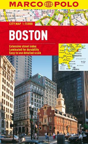 Boston Marco Polo City Map - Marco Polo City Maps (Sheet map, folded)