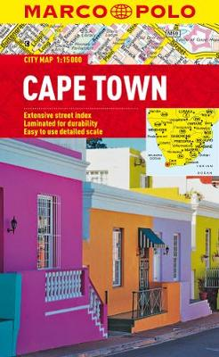 Cape Town Marco Polo City Map - Marco Polo City Maps (Sheet map, folded)