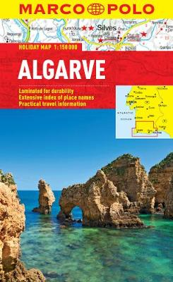 Algarve Marco Polo Holiday Map - Marco Polo Holiday Maps (Sheet map, folded)