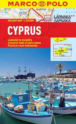 Cyprus Marco Polo Holiday Map - Marco Polo Holiday Maps (Sheet map, folded)