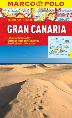 Gran Canaria Marco Polo Holiday Map - Marco Polo Holiday Maps (Sheet map, folded)