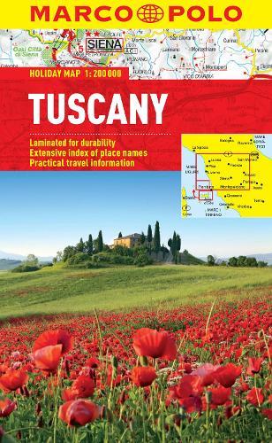 Tuscany Marco Polo Holiday Map - Marco Polo Holiday Maps (Sheet map, folded)
