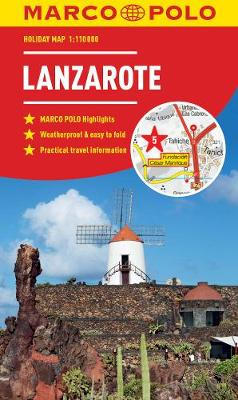 Lanzarote Marco Polo Holiday Map - Marco Polo Holiday Maps (Sheet map, folded)