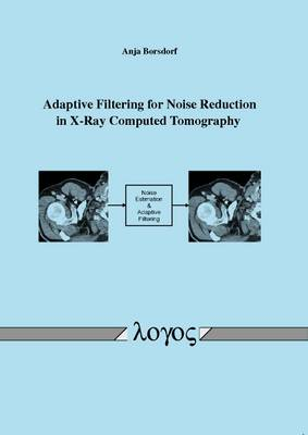 Adaptive Filtering for Noise Reduction in X-Ray Computed Tomography (Paperback)
