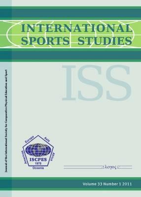 International Sports Studies 2011 - International Sports Studies 33/1 (Paperback)