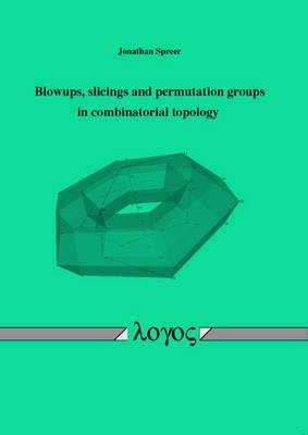Blowups, Slicings and Permutation Groups in Combinatorial Topology (Paperback)