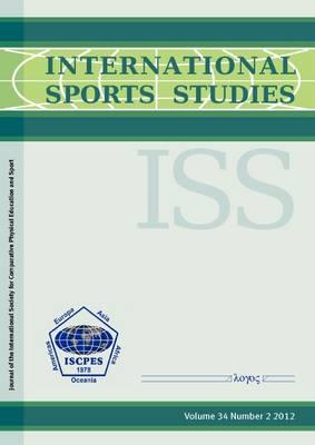 International Sports Studies 2012: Vol. 34 No. 2 (Paperback)