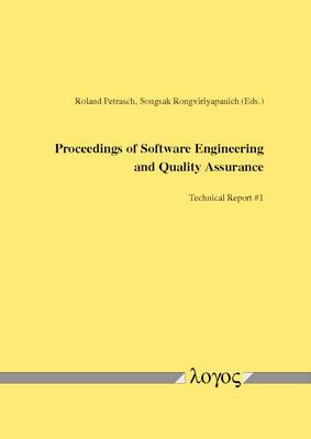 Proceedings of Software Engineering and Quality Assurance (Paperback)