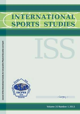 International Sports Studies: Vol. 35/1 (Paperback)
